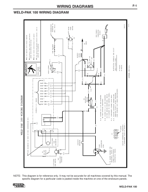 Wiring diagrams, Weldpak 100 wiring diagram, Weldpak 100