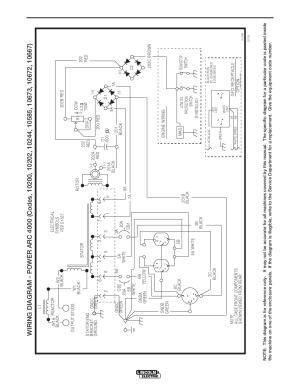 Diagrams, Powerarc 4000 | Lincoln Electric POWERARC 4000