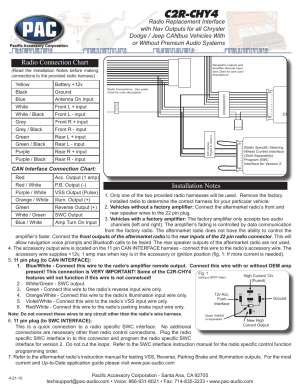 Pac Steering Wheel Interface Wiring Diagram | Wiring Library