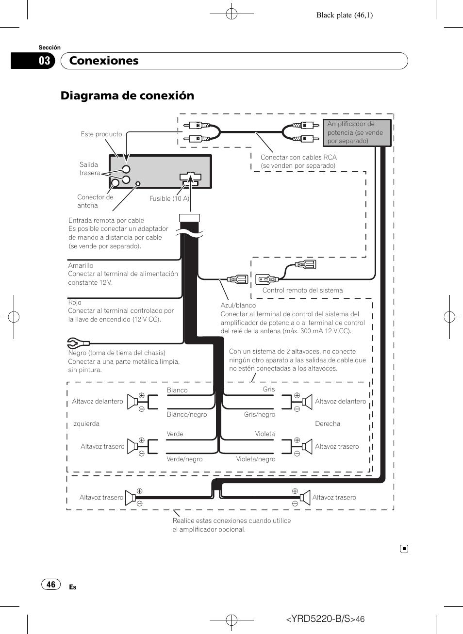 Wiring Diagram For Pioneer Deh 6400