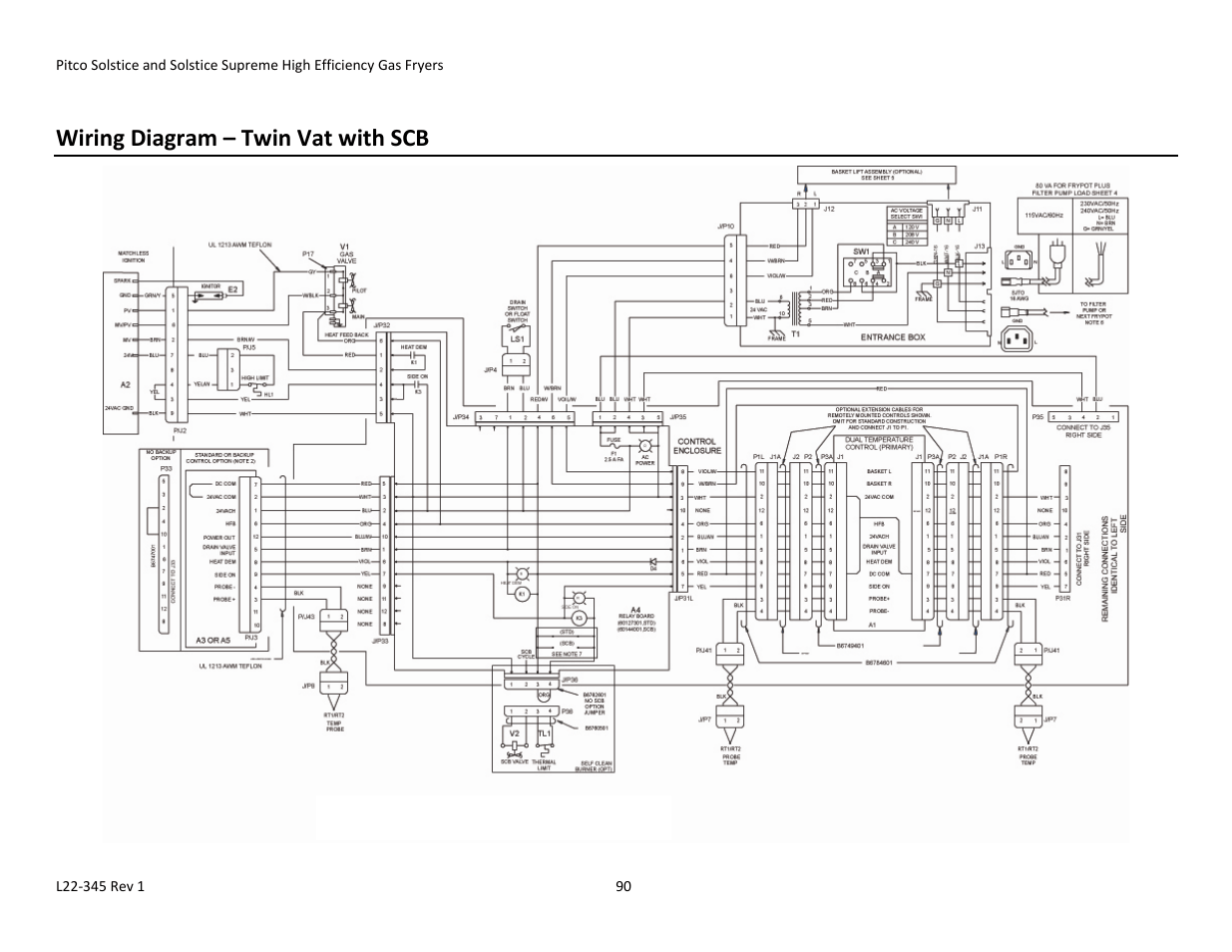 Wiring Diagram Twin Vat With Scb