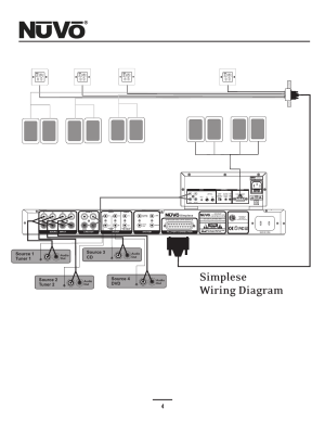 Wiring diagram, Simplese wiring diagram, Use only with