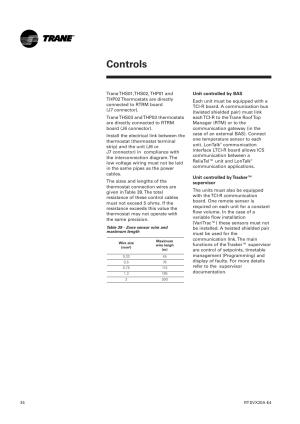 TRANE MANUAL  Auto Electrical Wiring Diagram