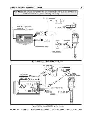 MSD 8560 Chevy V8 Marine Certified Distributor