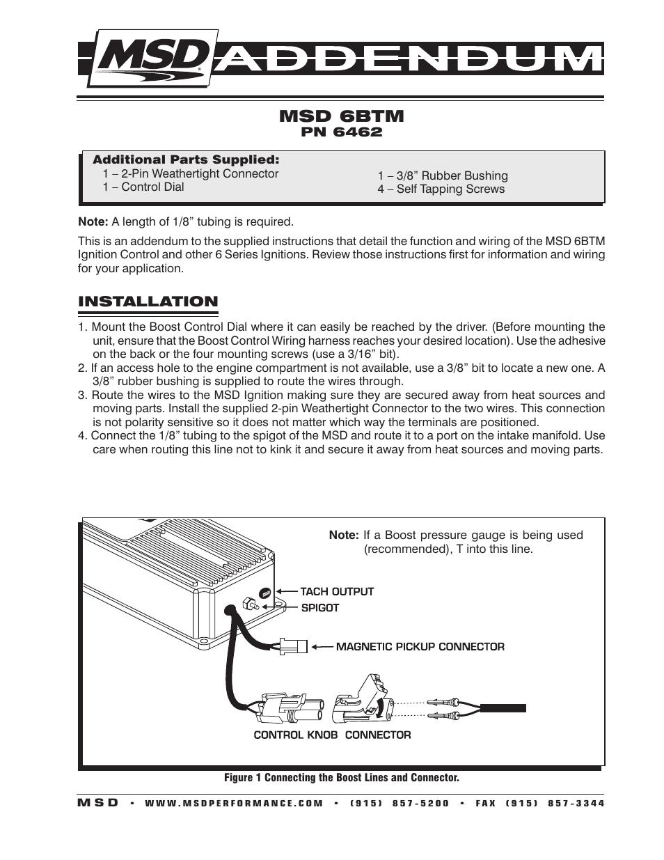 Attractive Wire Hook Up Msd 6al 2 Elaboration - Wiring Diagram Ideas ...