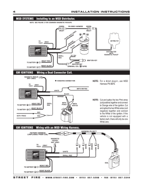 Gm ignitions wiring with an msd wiring harness | MSD 5520 Street Fire Ignition Control