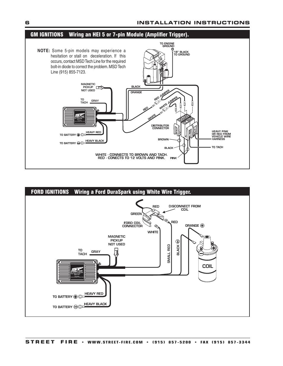 Unique 6401 Msd Ignition Wiring Badland Remote Wiring Diagram ...