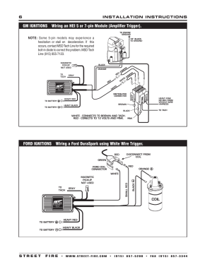 Coil | MSD 5520 Street Fire Ignition Control Installation User Manual | Page 6  12