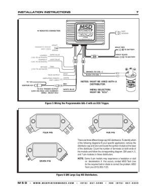 MSD 6530 Digital Programmable 6AL2 Installation User Manual | Page 7  20