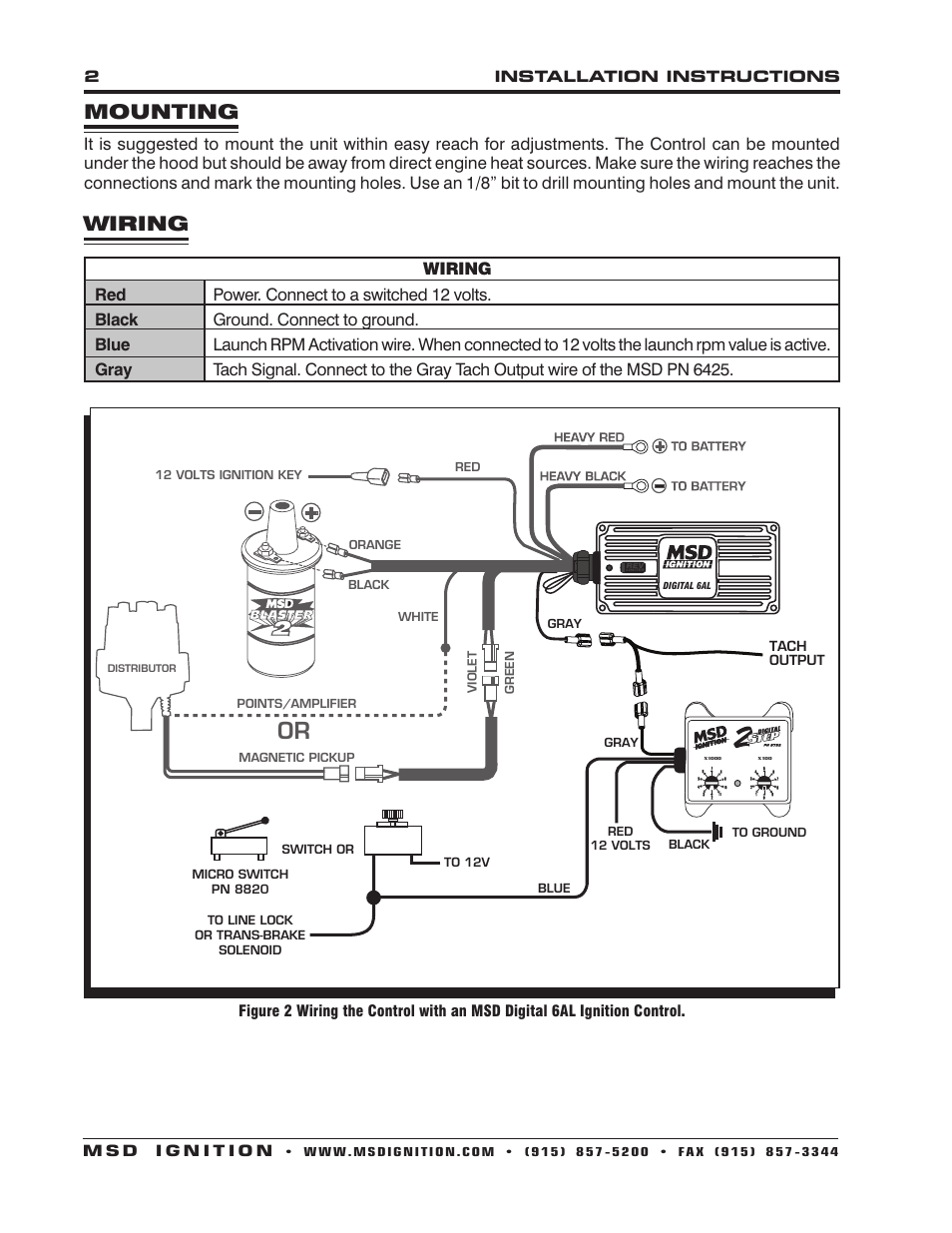 Msd 2 Step Wiring Electrical Diagram 6al For Library Rh 37 Muehlwald De
