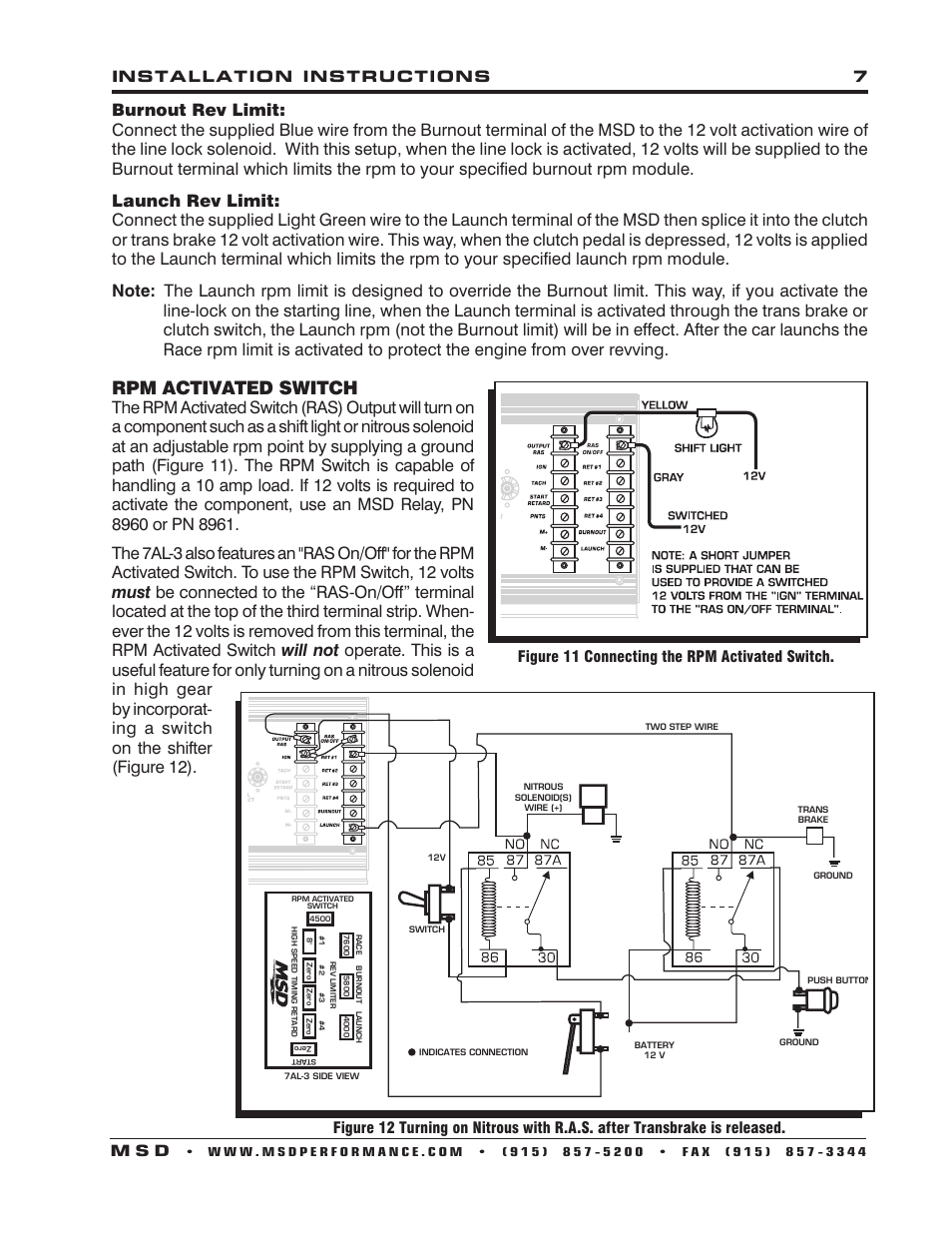 Msd 7al 3 Wiring Diagram Nitrous Trusted Diagrams With Nitros Two Step Product U2022 2