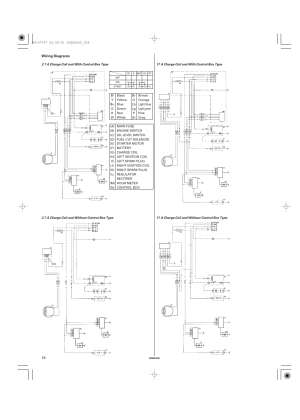 Wiring diagrams | Unique Industries Honda GX690 User Manual | Page 18  60