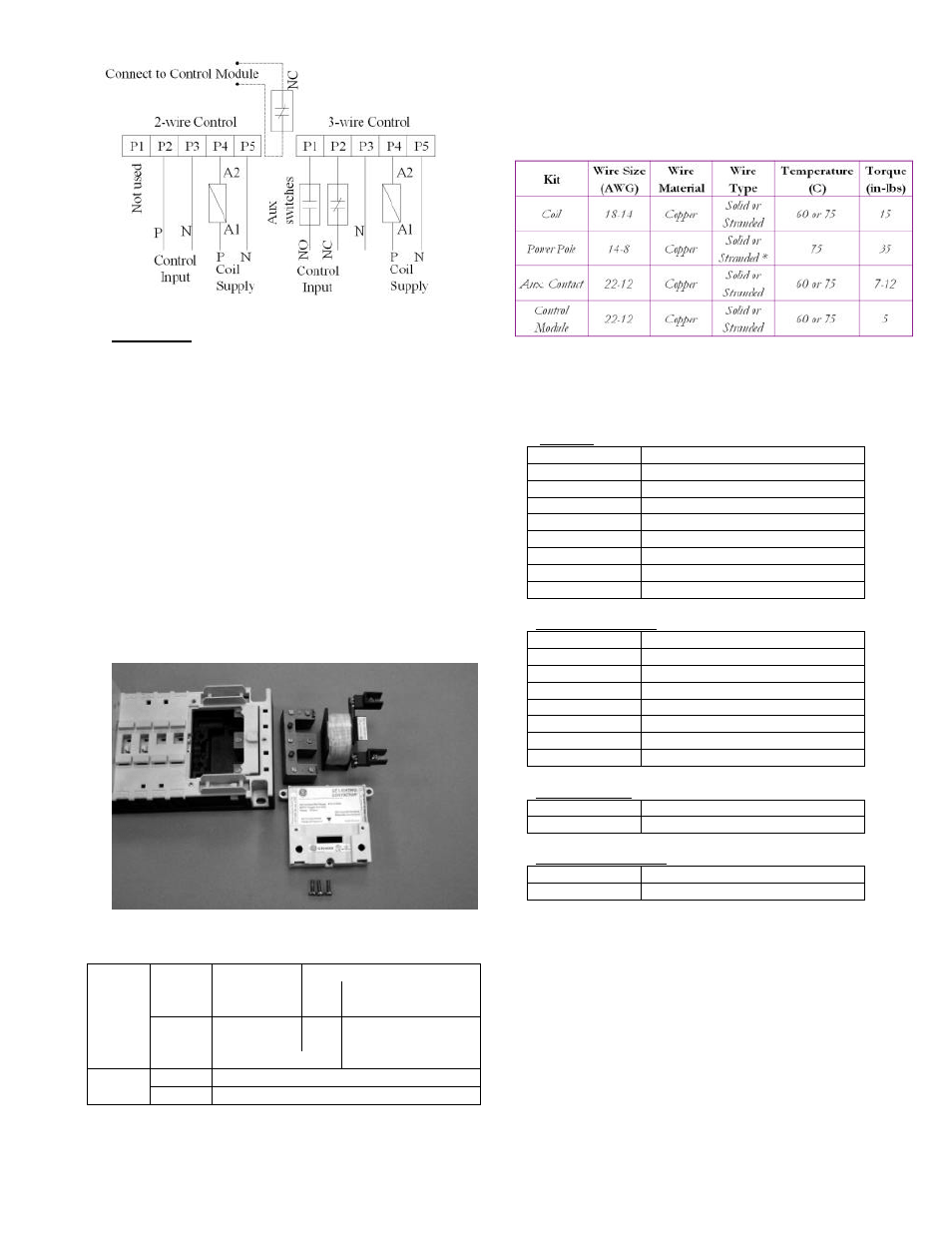 ge industrial solutions cr460 lighting contactor series page3?resize\\\=665%2C861 ge lighting contactor wiring diagrams starter contactor diagram Basic 12 Volt Wiring Diagrams at downloadfilm.co