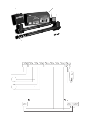 3  za4 wiring diagram, Fig 31, Fig 32   CAME KronoS5D