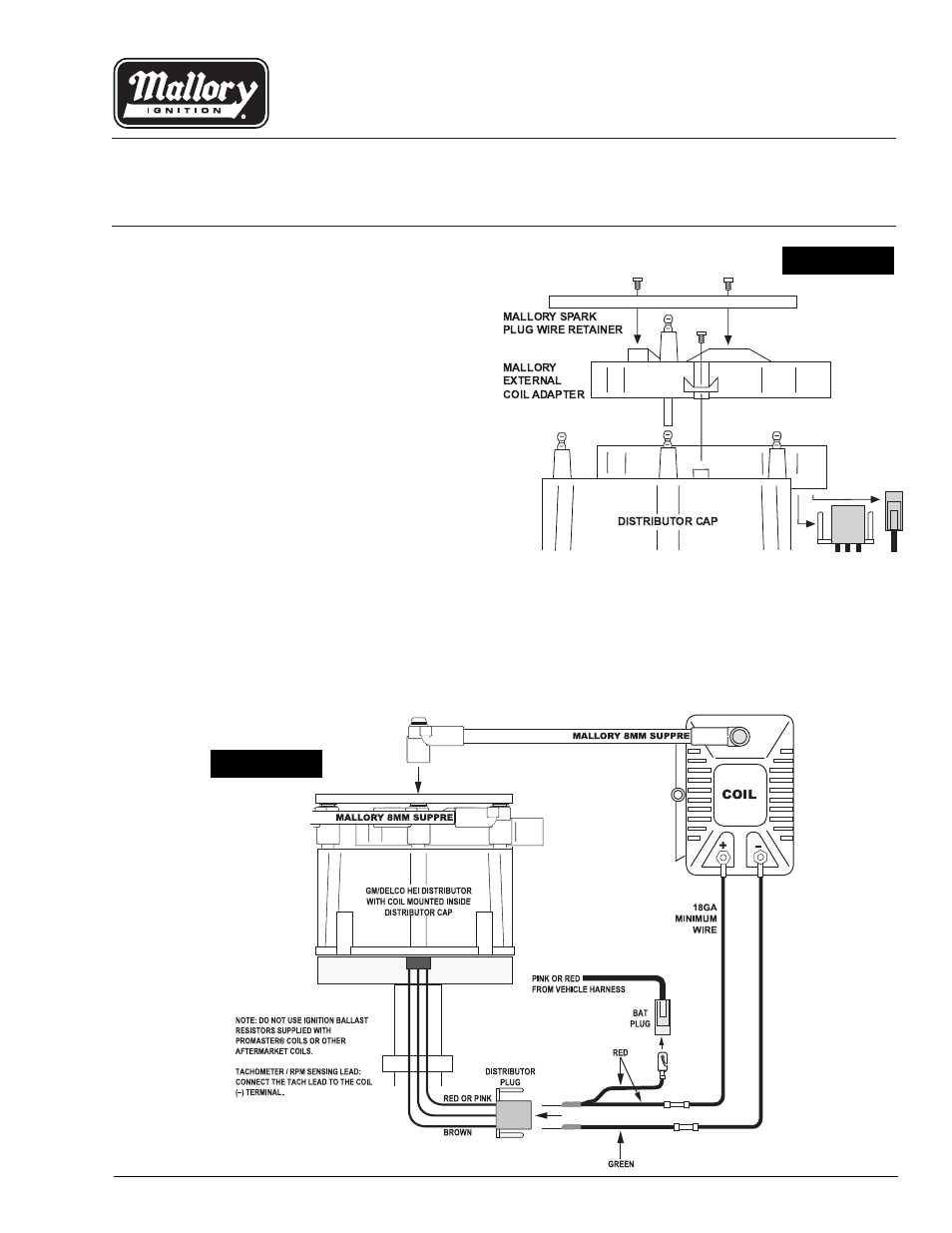 Hei Tach Wiring Diagram Free For You Tachometer Msd Adapter Mallory Autogage