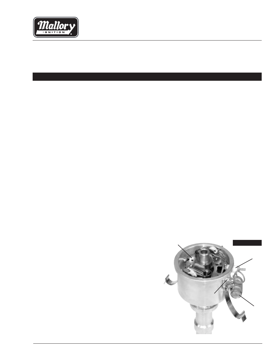 Unilite Distributor Wiring For A Gma | Wiring Liry on mallory magneto, mallory wire, mallory parts catalog,