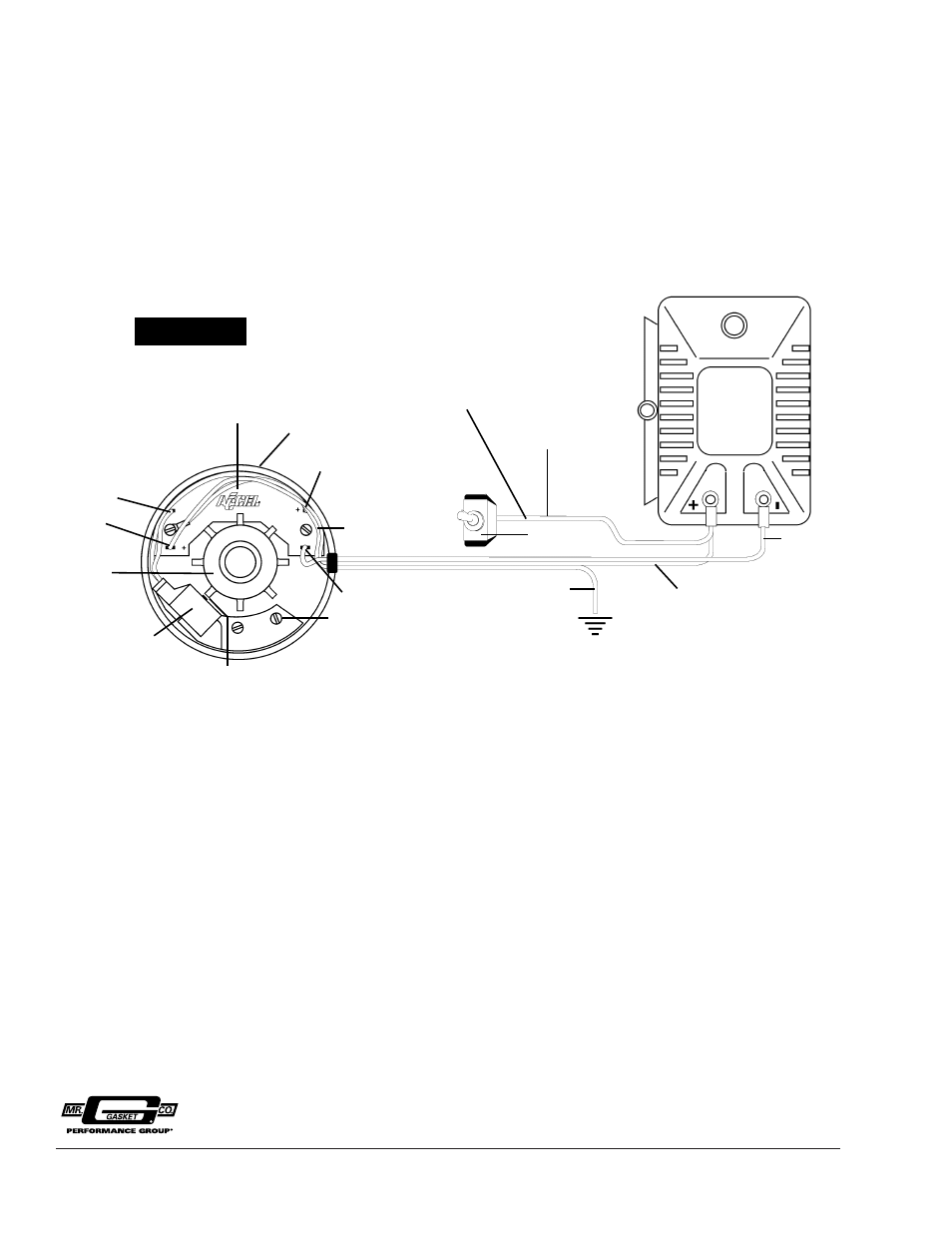 Accel Distributor A71100e Wiring Electrical Diagrams Mallory Pro Comp Diagram Street Billet Schematic Parts Vintage