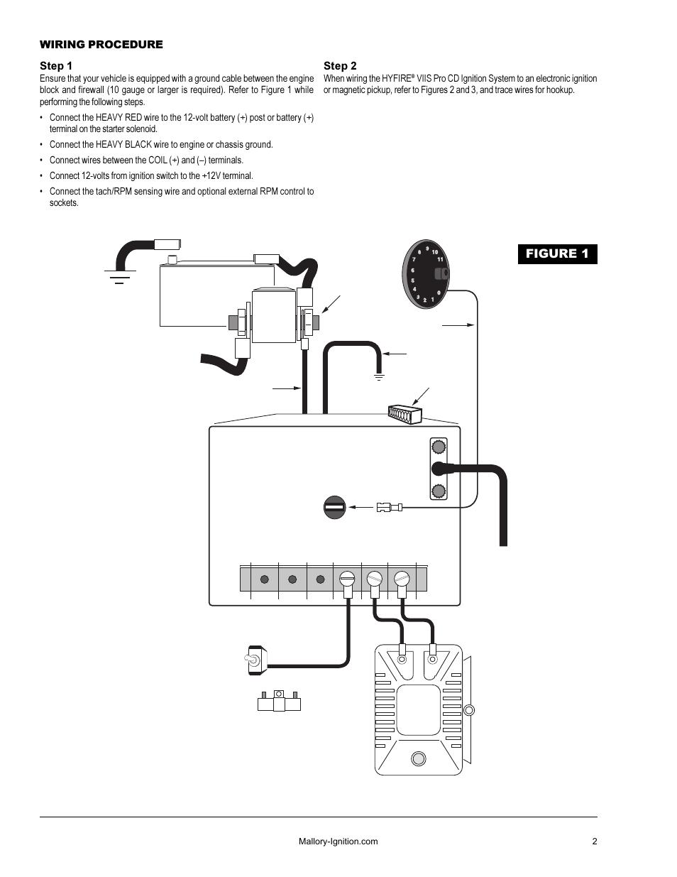 magnificent mallory hyfire ignition wiring diagram composition rh littleforestgirl net