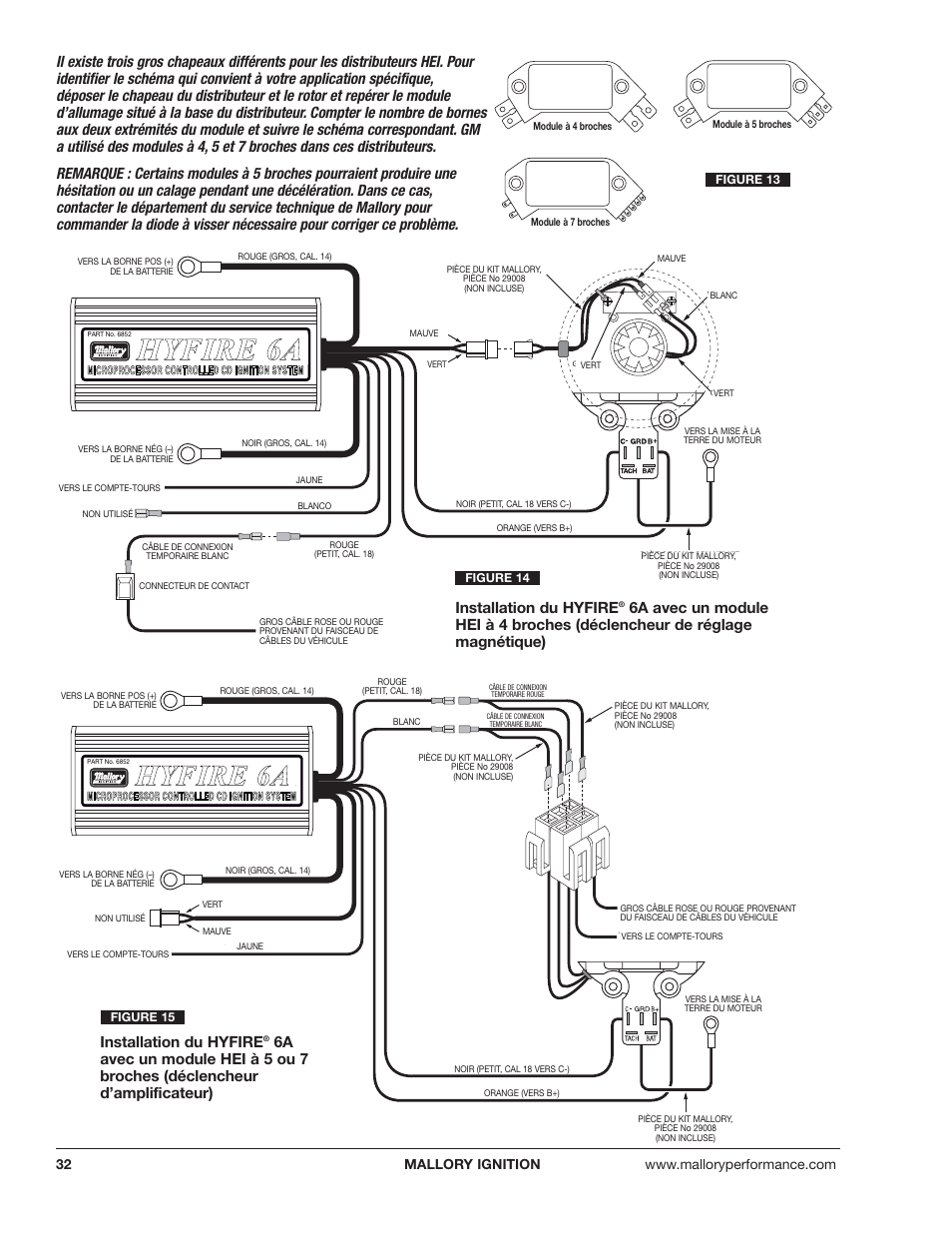 Mallory Ignition Module Electronic Distributor Wiring Diagram Promaster Coil And Unilite 954x1235