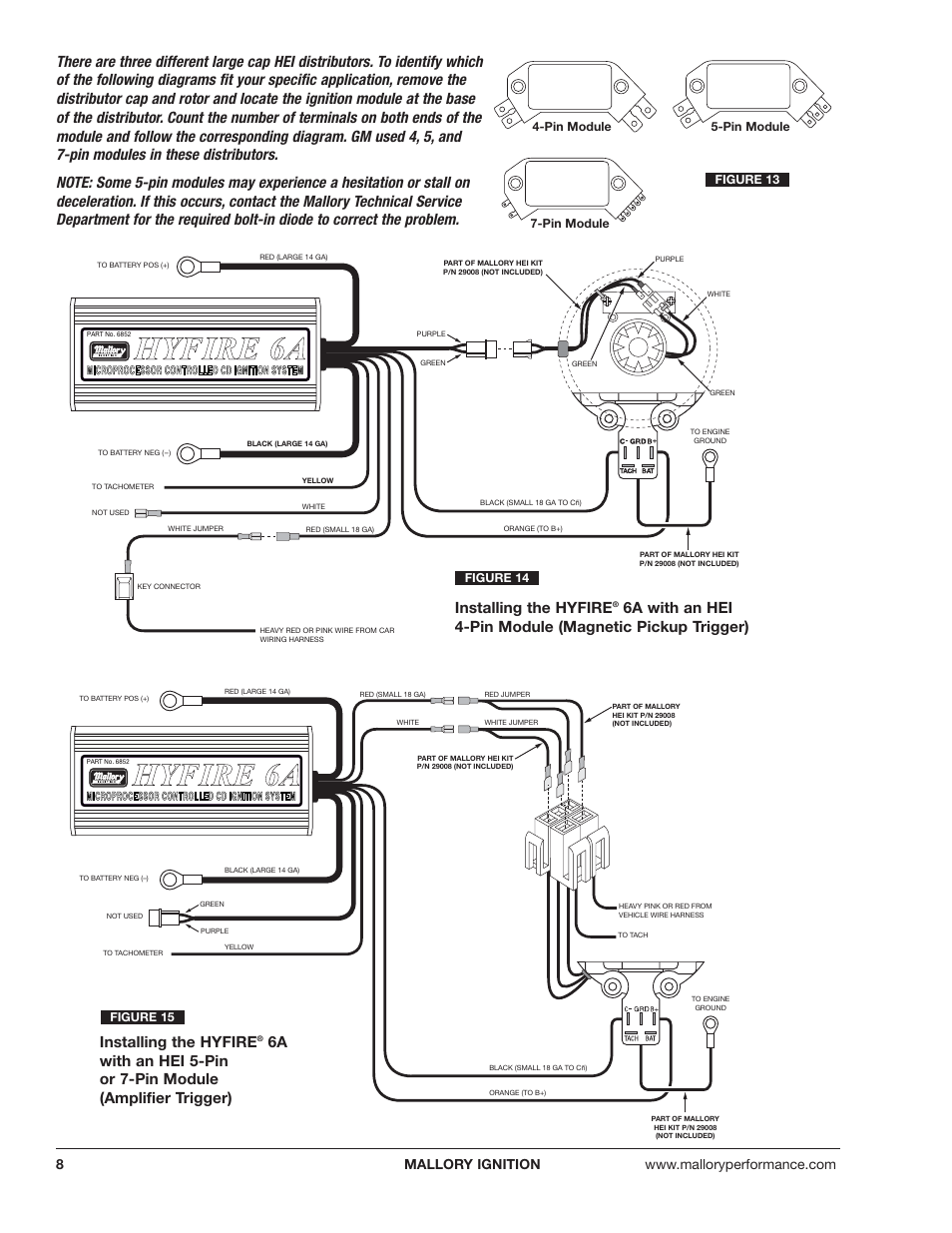 mallory ignition mallory hyfire 6a and 6al series electronic ignition controls 6852m_6853m page8?resize=665%2C861 mallory ivc wiring diagram conventional fire alarm wiring diagram  at alyssarenee.co
