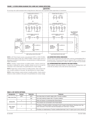 System Sensor D4120, D4P120, and D4S User Manual | Page 5  8