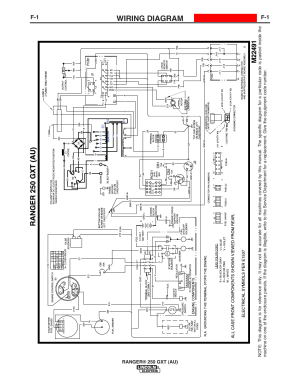 Wiring diagram | Lincoln Electric IM10052 RANGER 250 GXT