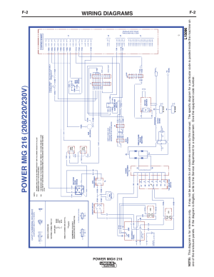 Wiring diagrams | Lincoln Electric IMT10016 POWER MIG 216 User Manual | Page 30  100