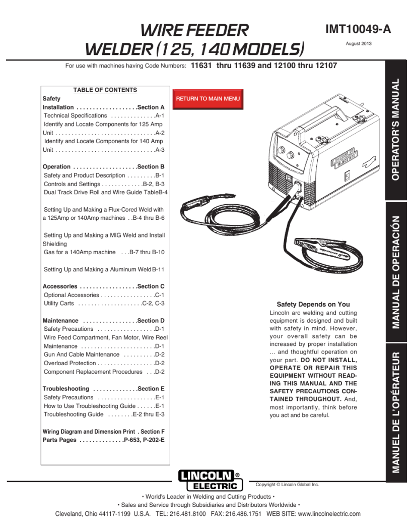 Lincoln Ln7 Wire Feeder Diagram - Wiring Schematics on