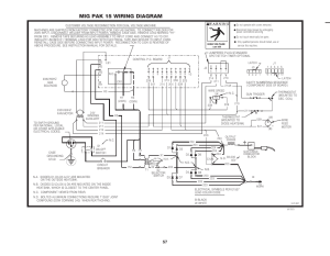 Mig pak 15 wiring diagram | Lincoln Electric IMt552 MIGPAK 15 User Manual | Page 57  64