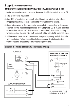 Step 5 | Aprilaire 8344 User Manual | Page 7  16