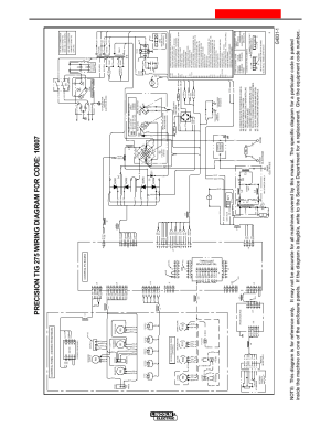 Diagram 2, Wiring diagram, Precision tig 275 | Lincoln