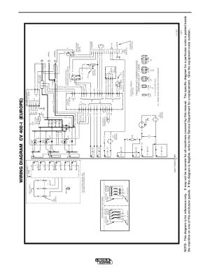 Diagrams, Cv400i, Wiring diagram cv 400i (europe