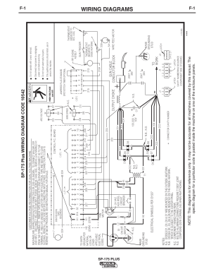 Wiring diagrams, Sp175 plus | Lincoln Electric IM610 SP
