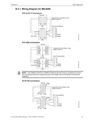 B21 wiring diagram for ms9200, Dtk2lvlpf connections