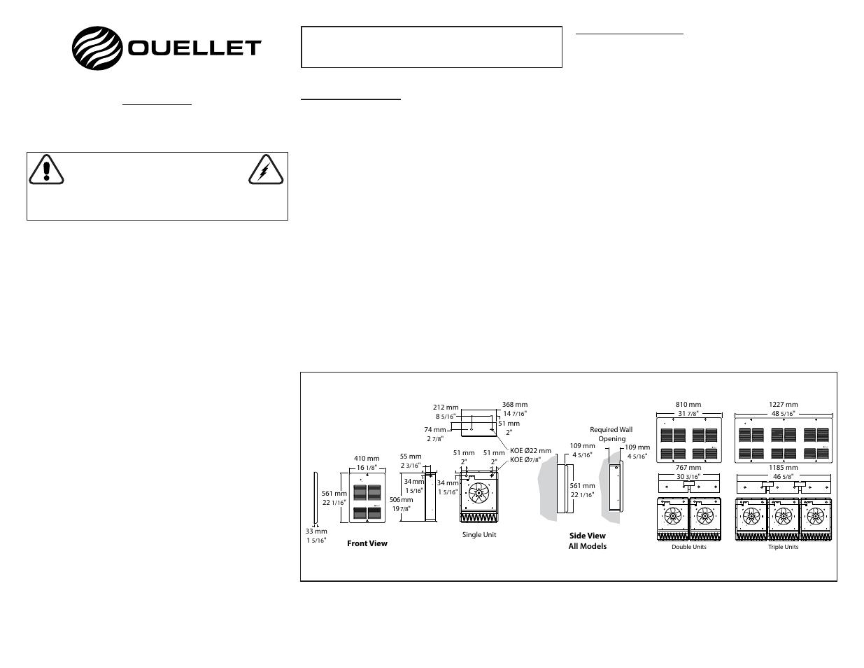 Ouellet Oac User Manual