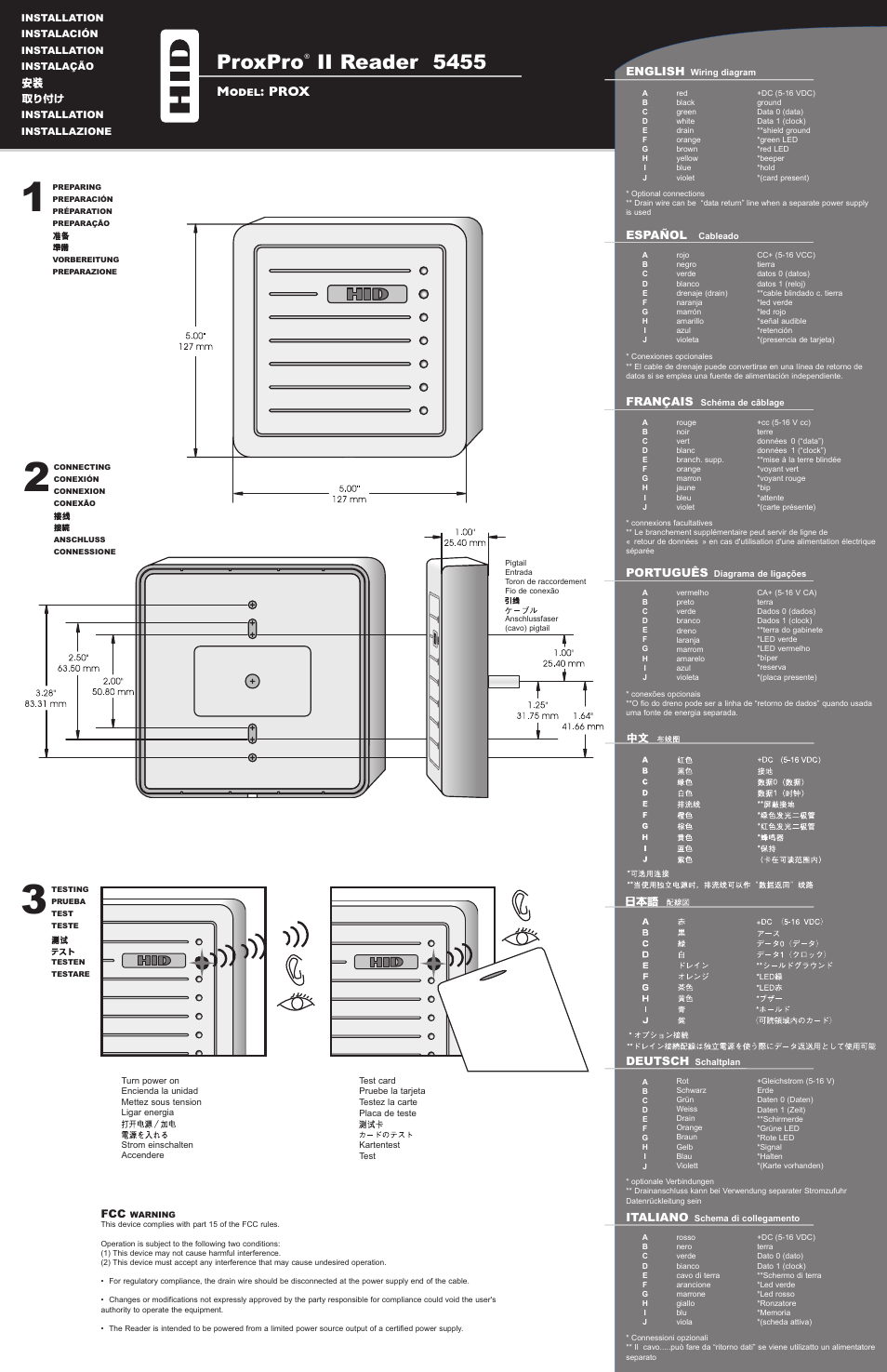 hid proxpro ii installation guide page1?resize=665%2C1028 sophisticated usb 2 0 male to male wiring diagram gallery wiring usb male to male wiring diagram at arjmand.co