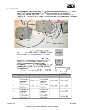 HID VertX V100, V200, V300, V1000, and V2000 Installation Guide User Manual | Page 9  24