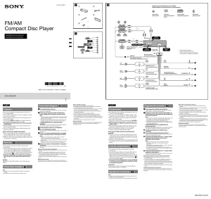 Sony CDXGT66UPW User Manual | 2 pages