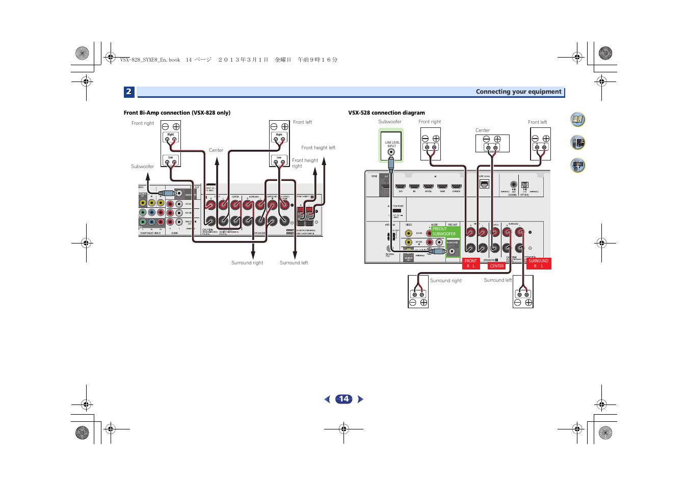 Pioneer Vsx 828 K User Manual