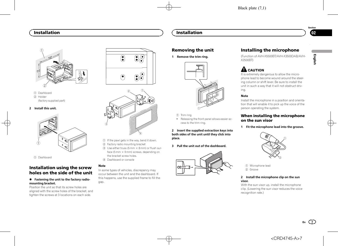 Wiring Diagram For Pioneer Avhx Bt