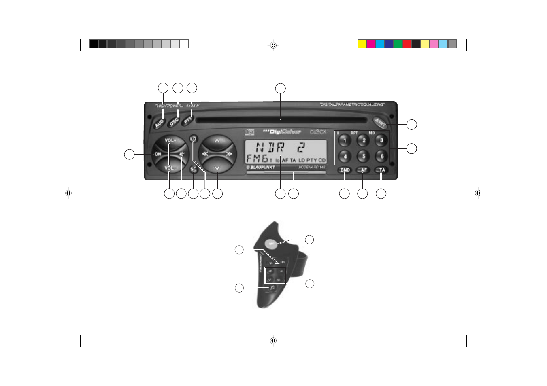 Manual Blaupunkt Kiel Cd32 Car Audio
