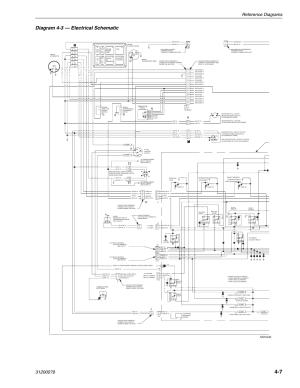 Diagram 43 — electrical schematic, Mv0430, Pa e2 e1 'k | Lull 1044C54 Series II Service Manual