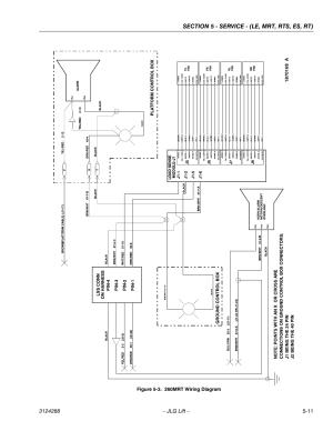 260mrt wiring diagram 11 | JLG LSS Scissors User Manual