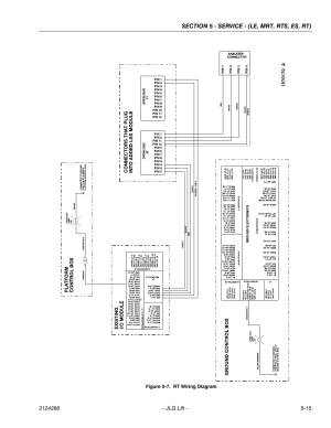Rt wiring diagram 15 | JLG LSS Scissors User Manual