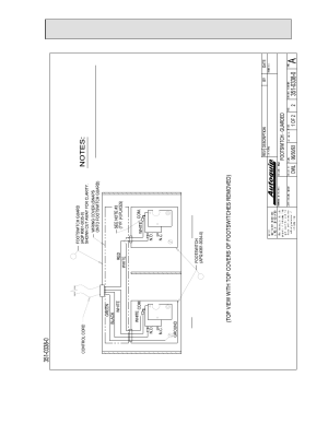 General maintenance, Figure 20: guarded foot switch wiring diagram, Down   Autoquip SERIES 35