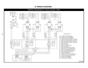 Wiring diagrams, U4187a   Bakers Pride EP22828 User