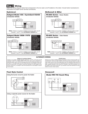 Step 3 wiring, Mcdonnell & miller, Ps800 series