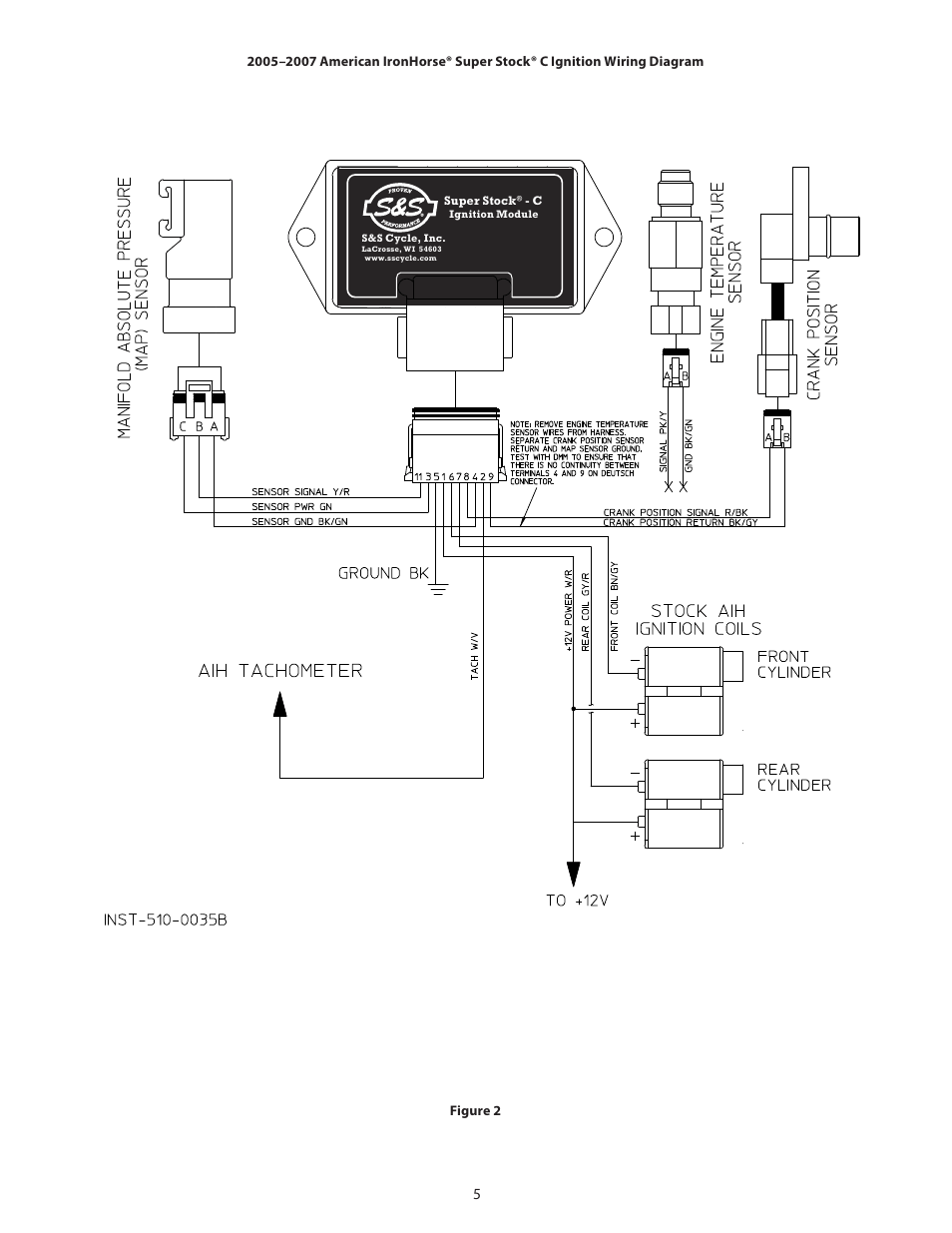 ss cycle super stock c ignition in carbureted 20042007 american ironhorse motorcycles page5?resize\\\\\\\\\\\\\\\\\\\\\\\\\\\\\\\=665%2C861 motorcycle tach wiring diagram motorcycle voltage regulator motorcycle tachometer wiring diagram at crackthecode.co