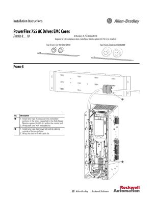 Rockwell Automation 21G PowerFlex 755 EMC Core Kit, Frame