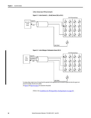 Safety analog input wiring examples | Rockwell Automation